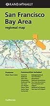 Rand Mcnally San Francisco Bay Area: Regional Map by Rand McNally (2013) Paperback