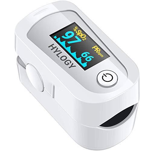 Pulsoximeter Finger Oximeter Blutsauerstoffsättigung Monitor mit OLED Display, Herzfrequenz Oximeter für das Gesundheitswesen(X07)
