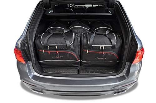 KJUST Dedizierte Reisetaschen 5 STK Set kompatibel mit BMW 5 Touring G31 2017 -