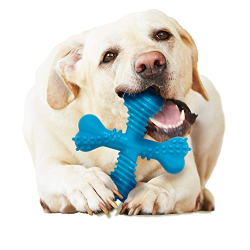 Nylabone Comfort Hold X Bone Power Chew Durable Dog Toy, Beef, 1 count, Large