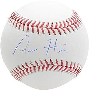 Aaron Hicks Yankees Autographed Baseball - Autographed Baseballs