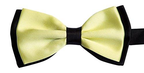 Sock Snob En satin-homme-jaune/noir-cadre réglable de pie & lemon (noir)