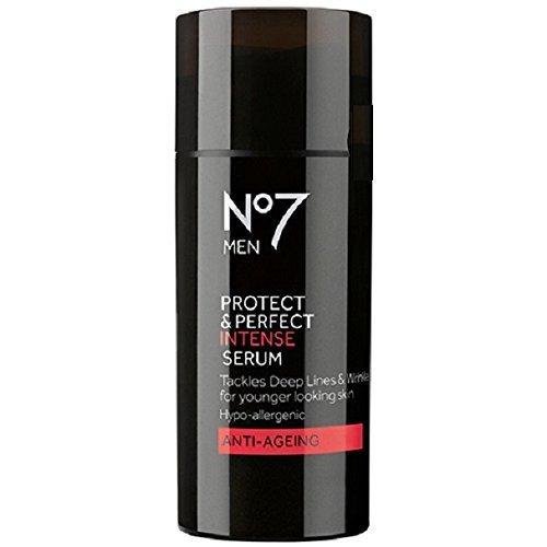 BOOTS No7 Men Protect & Perfect Intense Serum Anti-Aging by Boots