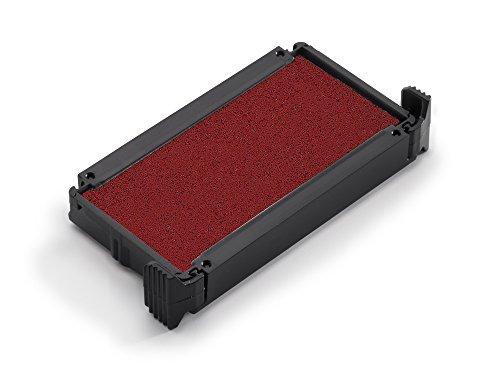 Trodat 6/4911 Stempelkissen Austauschkissen Ersatzkissen für Printy 4911, 4911 typo, 4800, 4820, 4822, 4846 und 4951, 2 Stück einfarbig rot