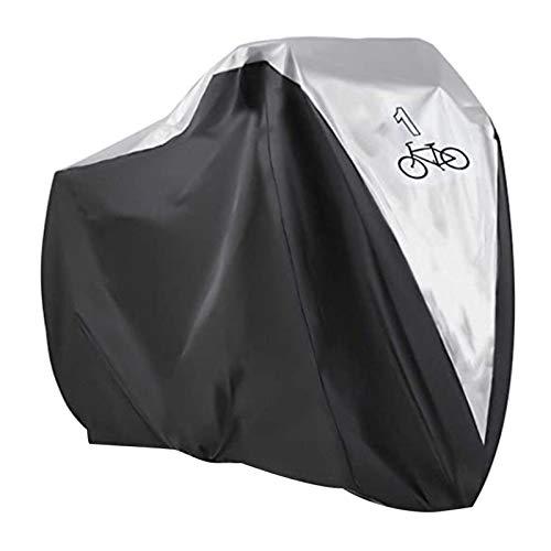 RUIXINLI Couverture de Moto Couverture de vélo extérieure imperméable Portable Pliable Bicyclette...