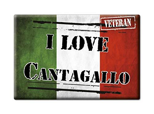 Enjoymagnets CANTAGALLO Souvenir IMANES DE Nevera Toscana IMAN Fridge Magnet Corazon I Love (VAR. Veteran)