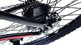 Zoom IMG-2 bicicletta elettrica pedalata assistita nera