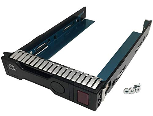 """Genuine HP 3.5"""" LFF SAS & SATA Hard Drive Solid State Drive Smart Carrier Tray (651314-001) for HP Proliant Server"""
