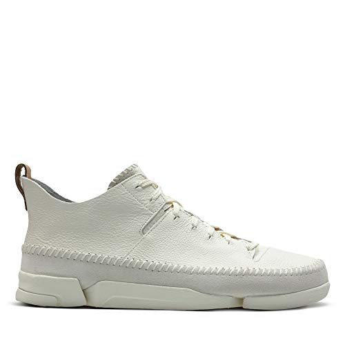 Clarks Originals Herren Trigenic Flex Sneakers, White, 42 EU