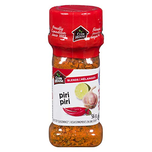 Club House, Quality Natural Herbs & Spices, Signature Blend, Piri Piri, 56g