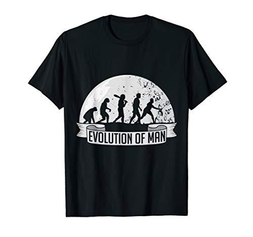 Evolution Badminton T-Shirt Federball Männer Herren Jungs
