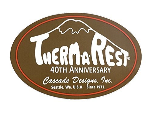THERM-A-REST(サーマレスト)ステッカー 40th BR【THERMAREST・THERM A REST】