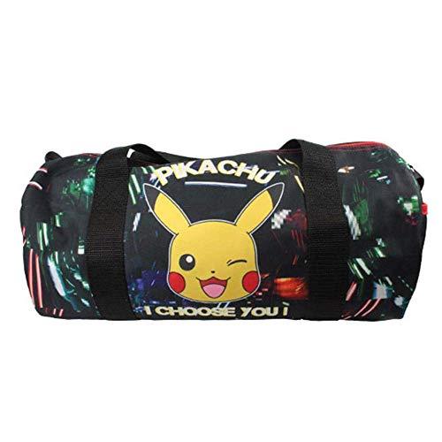 Reise Sport Tasche | Pokemon | Pikachu | 40 x 19 x 18 cm | Glow in The Dark