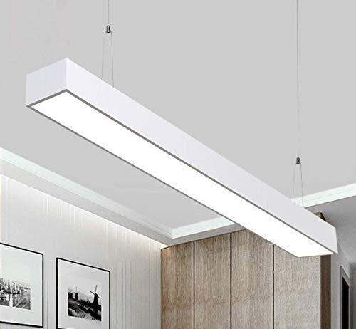 Lámpara Colgante LED 26W Luz de Techo Iluminación Pendiente Araña 26W Luz y Altura Ajustable (26W Blanco)