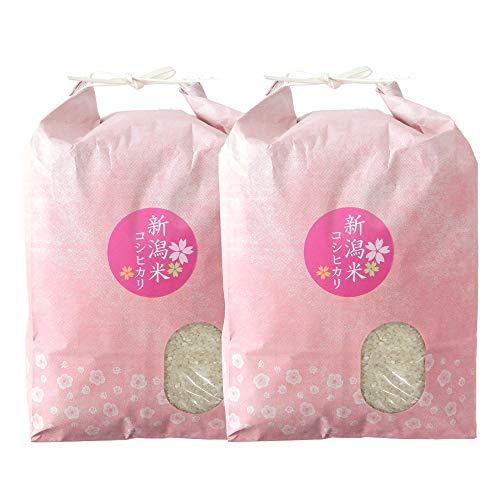新潟米コシヒカリ 玄米 10kg(5kg×2袋)新潟産こしひかり 産地直送 お祝い、ギフト、贈答に ご自宅、ご家庭、お弁当にも 新米