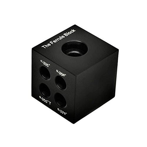 Hireko The Ferrule Block (Ferrule Installation Tool and Shaft Tip and Butt Measurement Gauge)