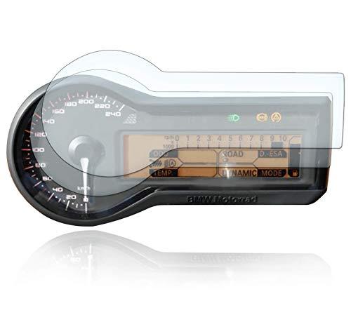 [2 Stück] Displayschutzfolie Tacho Schutzfolie geeignet für BMW R1200RS Panzerglas