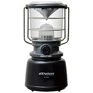 GENTOS(ジェントス) LED ランタン 【明るさ1300ルーメン/実用点灯7-350時間/3色切替/防滴】 エクスプローラー EX-1300D 防災 あかり 停電時用 ANSI規格準拠
