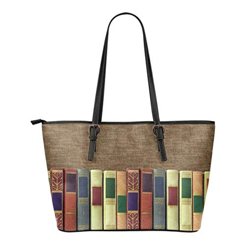 """FOR READING ADDICTS,""""Book spine"""", Bookish, Bag for book Lover, Gift for Reader, Literary gifts"""