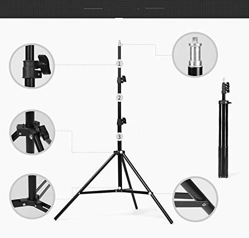 mobiele telefoon live ondersteuning, multi-functie, 2-camera video microfoon, microfoon clip, foto Statief