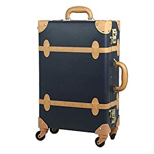 MOIERG Vintage Trolley Luggage