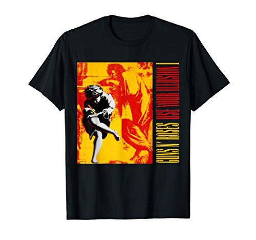 Guns N' Roses Use Your Illusion I Album T-Shirt for Men or Women, S to 3XL