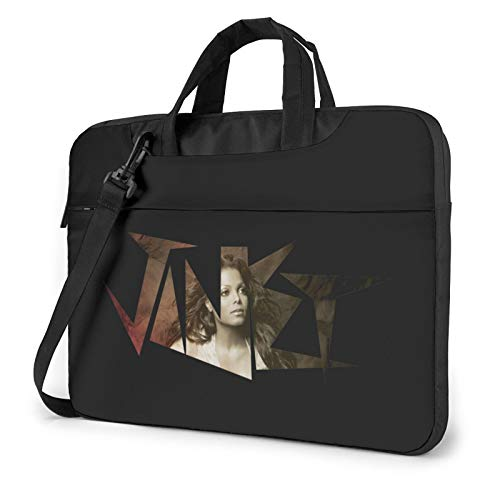 DFHDFH Janet Jackson Laptop Bag Laptop Sleeve Case with Shoulder Straps & Handle/Notebook Computer Case Briefcase Compatible 14 inch