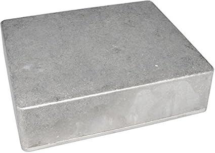 diypedalgearparts® Caja Aluminio Aluminium Enclosure Clone 1590X X, Stomp Box, Pedal Effect