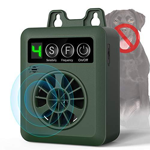 Tinzzi Anti Barking Control Device, Ultrasonic Dog Bark Deterrent, Mini Sonic Anti-bark Repellent 50 FT Range, Sonic Bark Deterrents Silencer Stop Barking Bark Stop Repeller