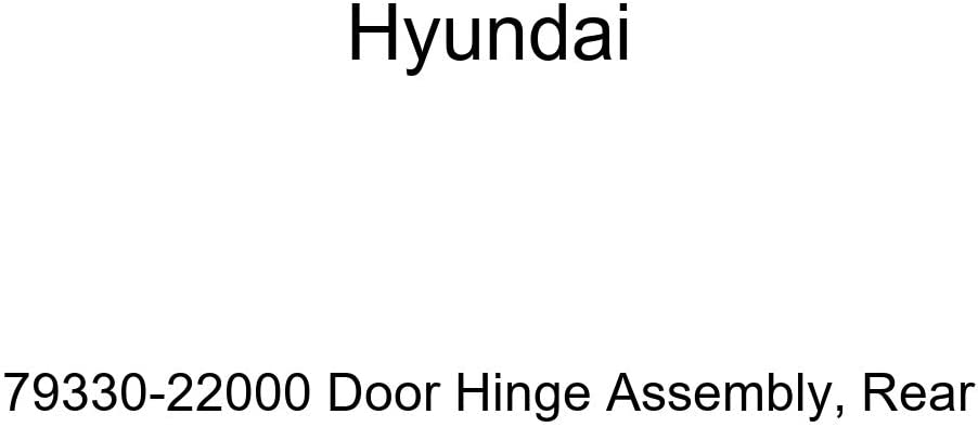 Genuine Hyundai 79330-22000 Door Assembly Rear Don't miss the campaign Tucson Mall Hinge