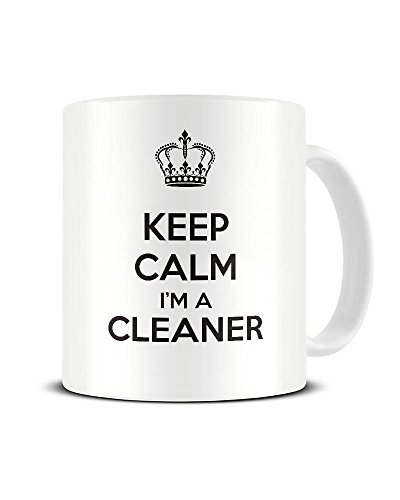 Keep Calm I'm A Aspirateur – Carry On – Mug à café en céramique – Thé Mug – Excellent Idée de cadeau Funky NE Ltd