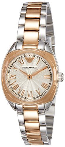 Emporio Armani Women's AR1952 Dress Two Tone Watch