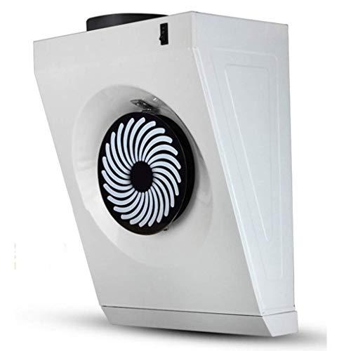 LXZDZ Ventilador de extracción Pequeña sala de ventiladores de humo domésticos mini succión lateral colgante de pared cocina doméstica simple