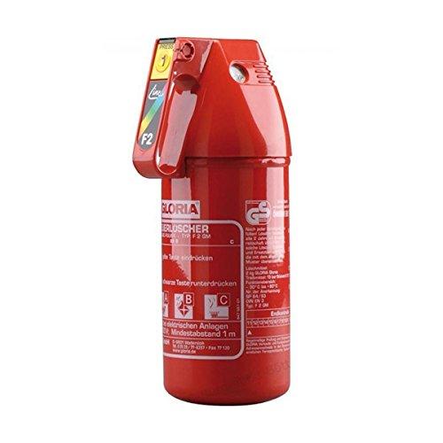 Gloria 0005952 Extintor de polvo ABC, 2kg, eficacia 13A-89B-