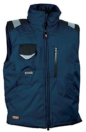 Cofra POLAR - Gilet invernale, da lavoro, colore: blu navy/nero, 40-00V01302-48