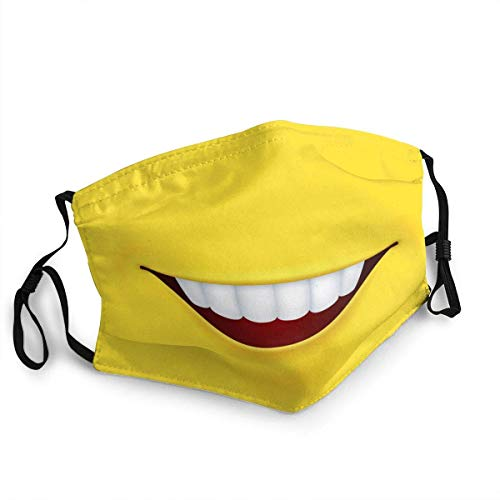 pumpkin pie Smiley Mund Lächeln Gelber Hintergrund Personalisierter Mundschutz Wiederverwendbarer Mundschutz (Give Five Mouth Guard)