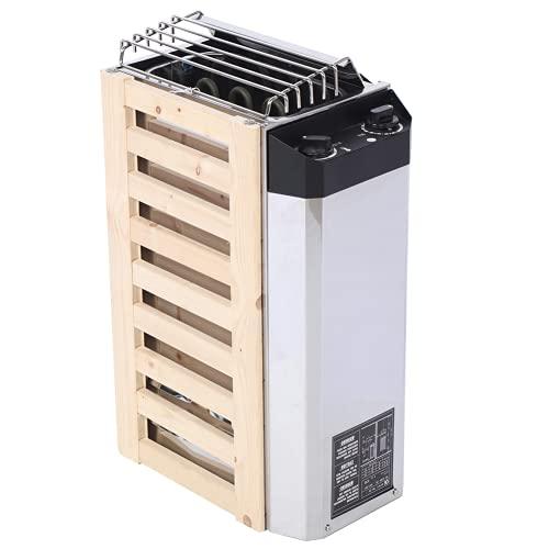 Stufa elettrica della stufa della stazione termale di sauna, tipo di controllo interno 3KW attrezzo di riscaldamento del radiatore della stufa di sauna dell'acciaio inossidabile per la stanza di sauna