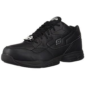 Skechers for Work Men's Felton Shoe, Black, 11 M US
