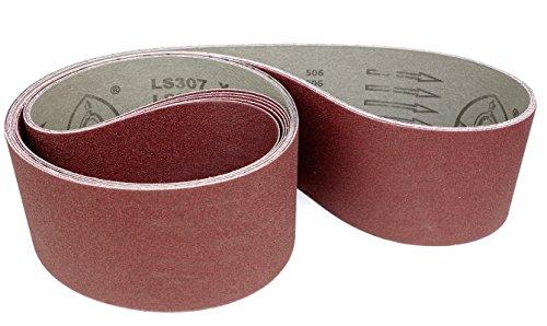 Klingspor LS 307 X Schleifband | 100 x 2000 mm | 5 Stück | Körnung: 60