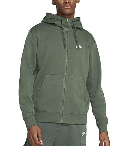 Nike Giacchetto con Cappuccio BV2648370 Uomo Verde Verde L