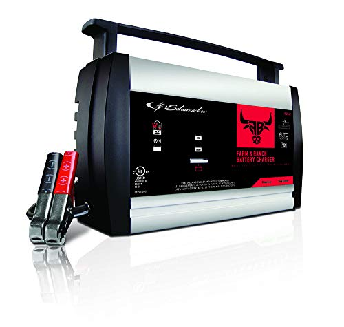 Schumacher FR01242 6/12V Fully Automatic Battery Charger and 3A/10A Maintainer