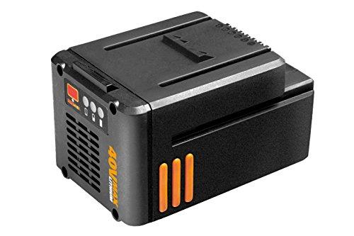 Worx 40V / 2,5 Ah Lithium-Ionen Akku, Ersatz-Akku / Zusatz-Akku für alle 40V Powershare Geräte, 1 Stück, WA3545