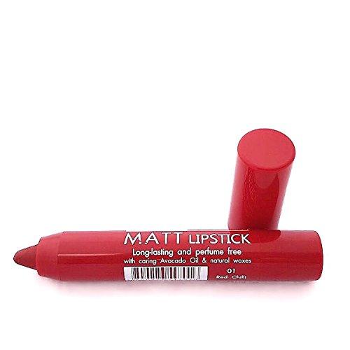 Impala Matt Lippenstift Automatik Farbe 01 Rote Chilli Langlebig