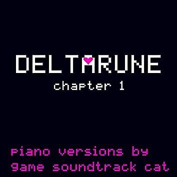DELTARUNE Chapter 1 (Piano Versions)