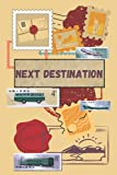 Next Destination: Stamp Composition with a Vintage vibe | lined notebook