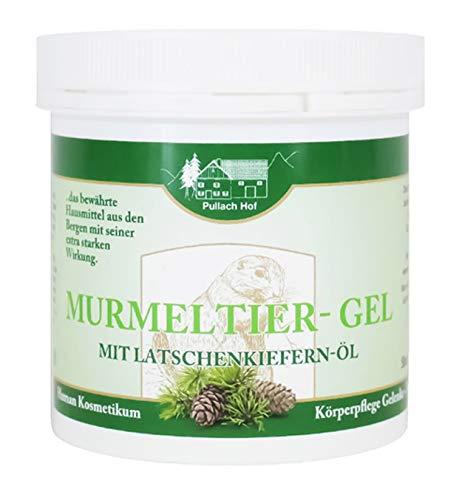 MURMELTIER-GEL 250ml mit Latschenkiefer-ÖL für Muskeln und Gelenken Murmeltiercreme Creme Lotion Balsam 86
