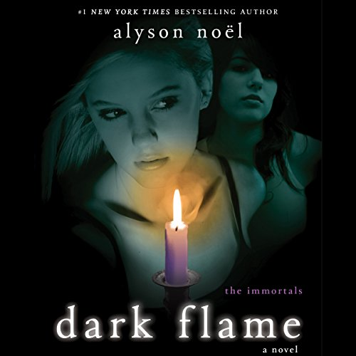 Dark Flame audiobook cover art