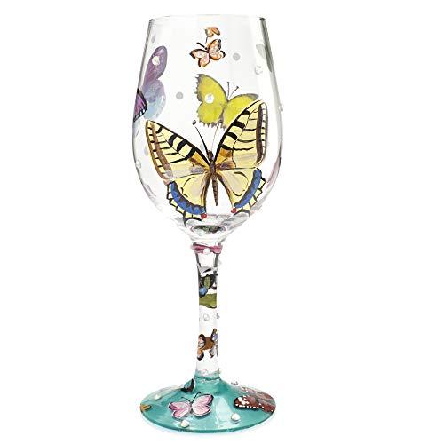 Lolita, Copa con dibujos de mariposas, Enesco