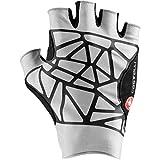CASTELLI 4520032-870 Icon Race Glove - Guantes de ciclismo para hombre, color plateado, talla XL