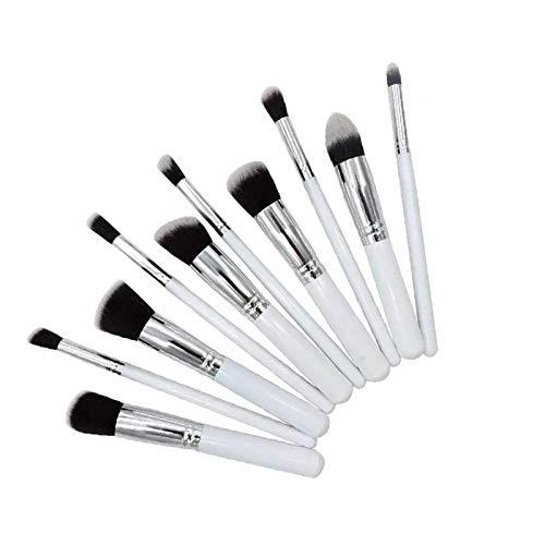 BestMall Kit De Pinceau Maquillage Professionnel 10PCS Noir Eyebrow Shadow Blush Fond De Teint Anti-Cerne (color2)